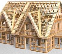 Строим каркасный дом собственными силами