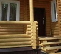 Строим крыльцо для деревянного дома