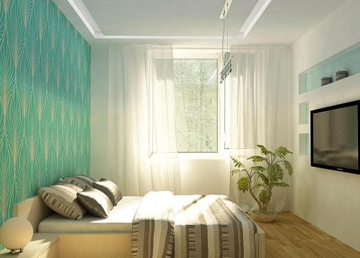 дизайн фото небольшой спальни