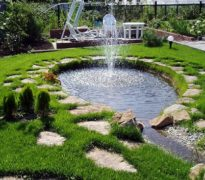 Устройство водоемов на загородном участке