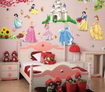 Детская комната творческого ребенка