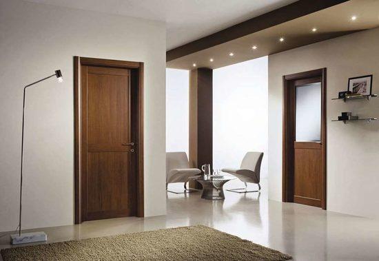 ламинированные двери из МДФ