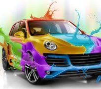 Автомобильная покраска. Тюнинг бампера
