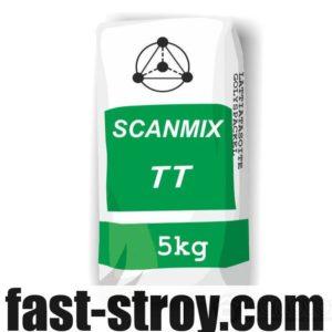 Штукатурка Scanmix TT фасадная стартовая до 20мм серая 5 кг