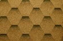 Битумная черепица KATEPAL Katrilly (Золотой песок) - 1145