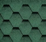 Битумная черепица RUFLEX Sota Зеленый базилик - 1251