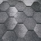 Битумная черепица Tеgola  Супер, мозаик (альпийский сланец) - 1341
