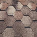 Битумная черепица Tеgola Супер, мозаик (кедр) - 1331