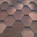 Битумная черепица Tеgola Супер, мозаик (сосновая кора) - 1329