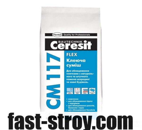 Эластичная клеющая смесь CM 117 Flex 5 кг