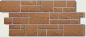 Цокольный сайдинг Docke Фасадные панели коллекции Burg Maisburg кукурузный ( камень ) - 662