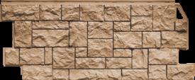 Цокольный сайдинг Docke Фасадные панели коллекции Fels Perlfels жемчужный ( cкала ) - 457