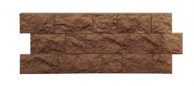 Цокольный сайдинг Docke Фасадные панели коллекции Fels Roggenfels ржаной( cкала ) - 443