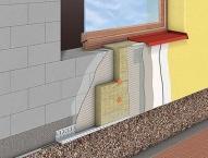 Комплексное утепление фасада минеральной ватой (50 мм) + Polimin без финишного слоя (для себя) - 710