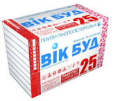 "Пенопласт ""ВИК БУД"" 25 (8 кг)40мм. - 317"