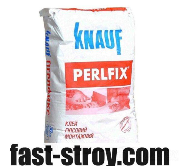 Клей для гипсокартона Перлфикс (PerlFix) 15 кг Knauf