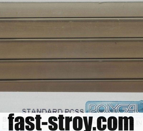 Поликарбонат Polygal бронзовый 6мм 2,10x6м