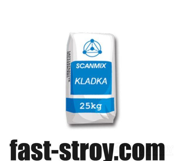 Смесь для газобетона Scanmix KLADKA, 25кг