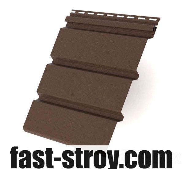 Софитная панель без перфорирования коричневый, (4x0,31м) 1,22кв.м.