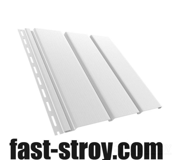 Софитная панель без перфорирования белая, (4x0,31м) 1,22кв.м.