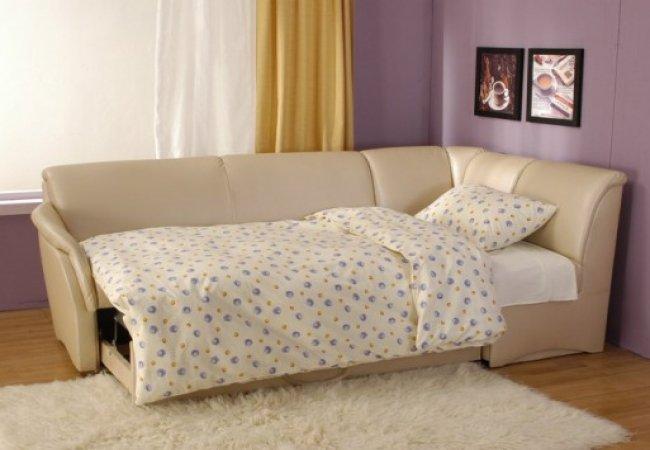 Угловые диваны-кровати. Выгодные преимущества мебели