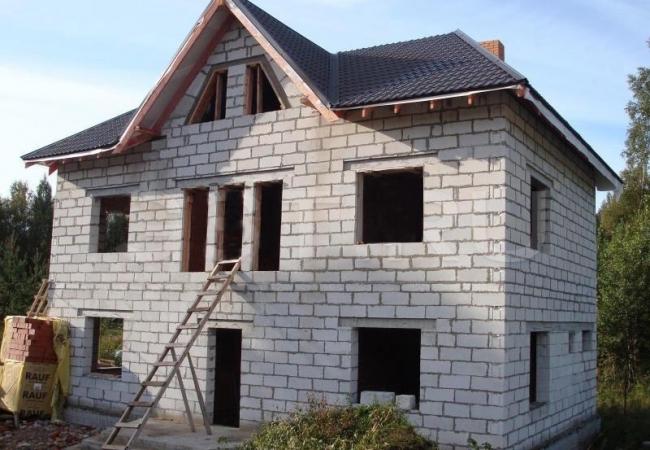 Загородные дома из газобетонных блоков