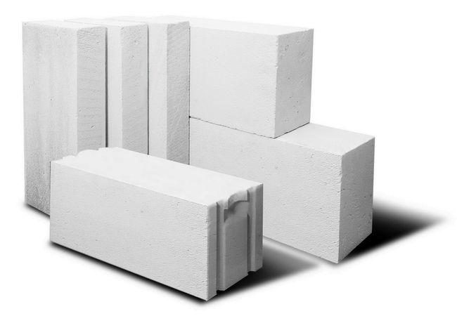 Газоблок для возведения стен высокоэтажного и частного дома