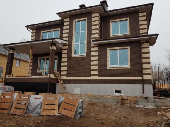 Строительство домов из кирпича в Казани и пригороде