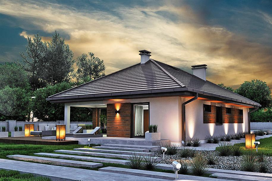 Каркасно-панельные дома по европейским стандартам