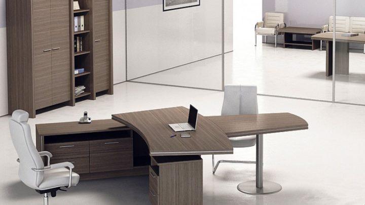 Мебель руководителя Gloss с глянцевым ДСП
